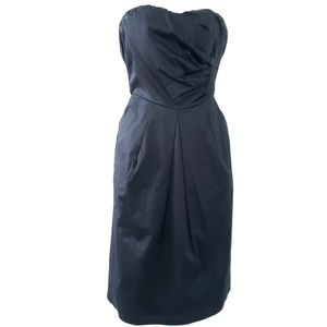The Limited Strapless Little Black Dress Cocktail